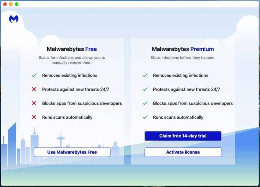 malwarebytes for mac installation étape 3