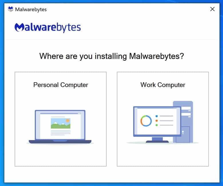 instalación de malwarebytes 1