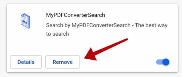 supprimer MyPDFConverterSearch
