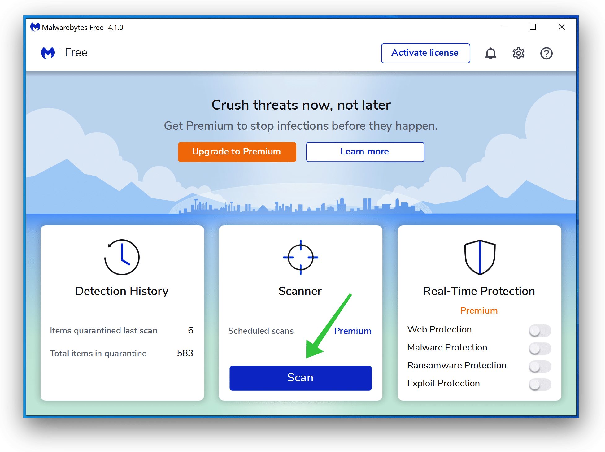 Remove Quick Clear Cache with Malwarebytes
