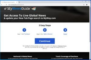 MyNewsGuide Adware