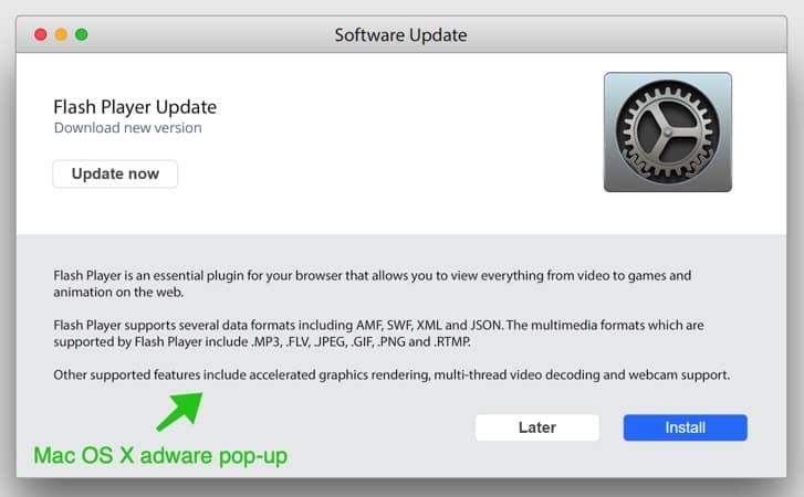 mac osx adware