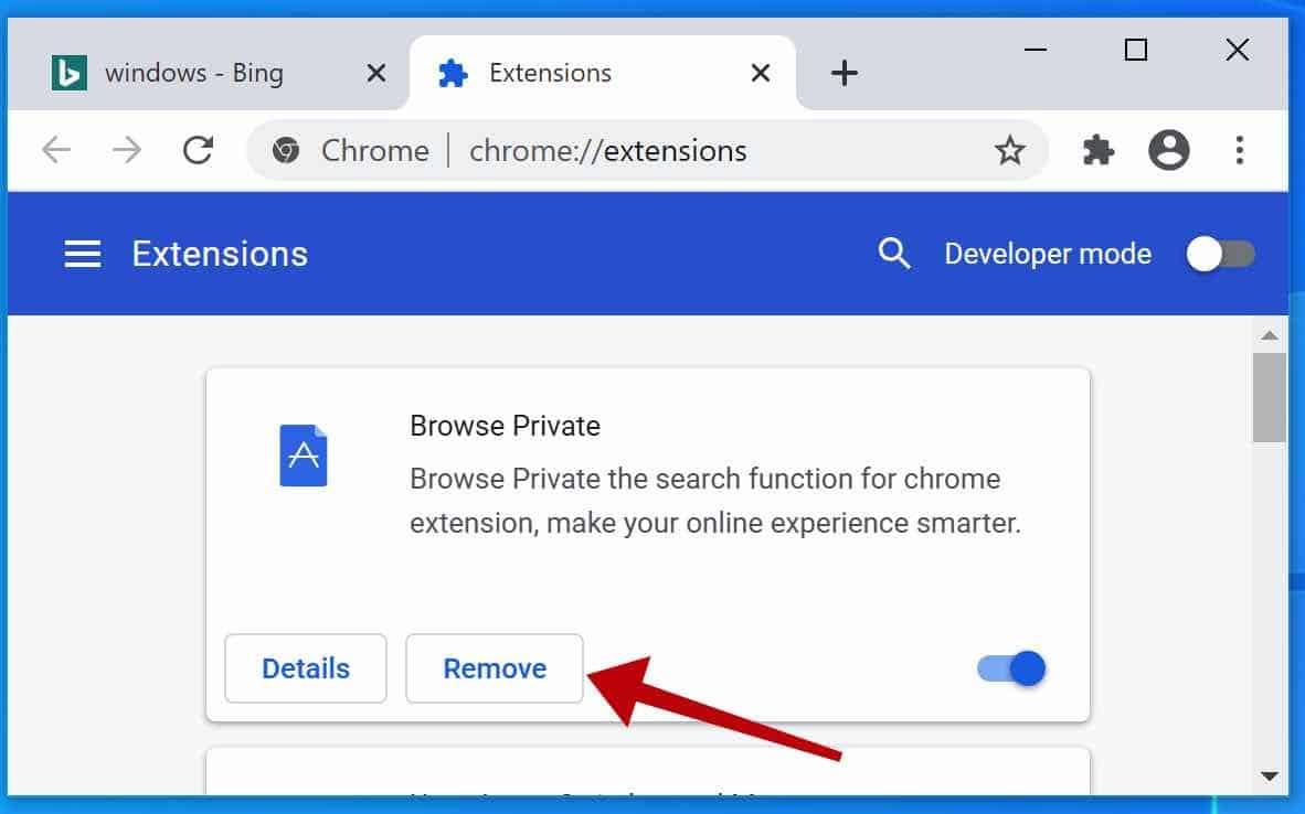 Browse Private adware