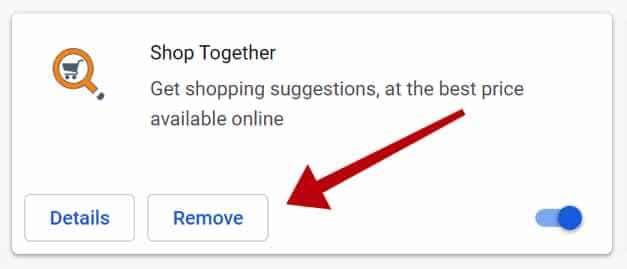 Shop Together-Erweiterung