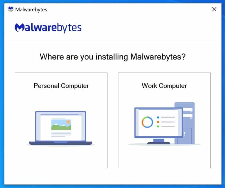 malwarebytes installation 1