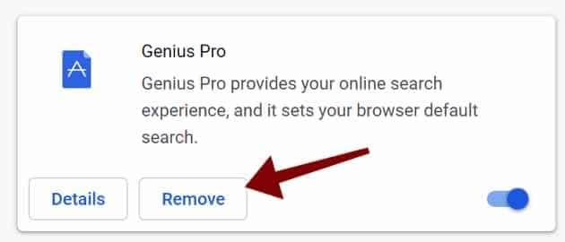 remove Genius Pro