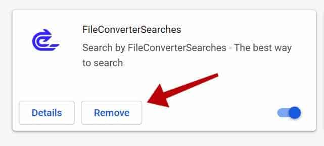 eliminar FileConverterSearches