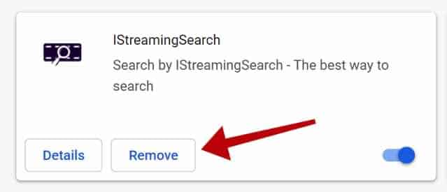 supprimer IStreamingSearch