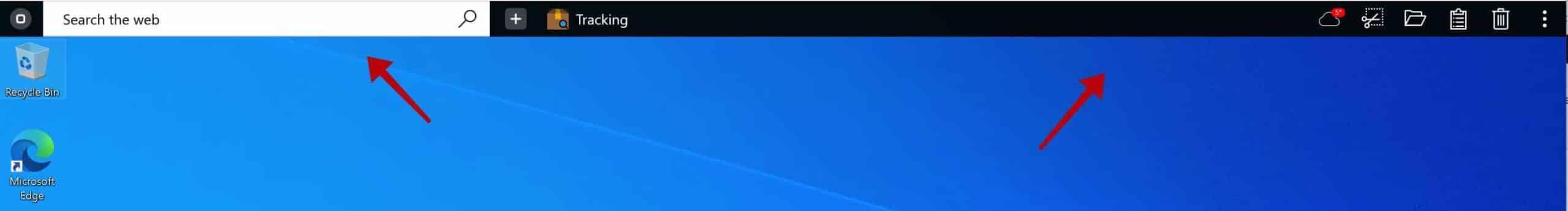 OneLaunch toolbar