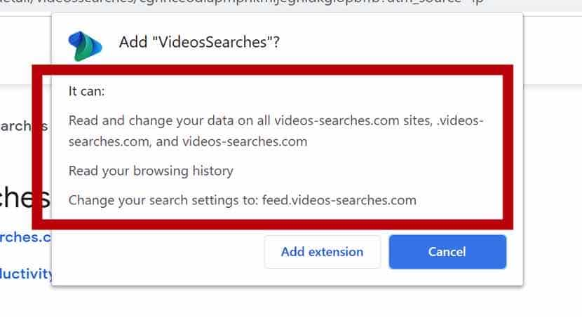 VideosSucht nach Browserberechtigungen