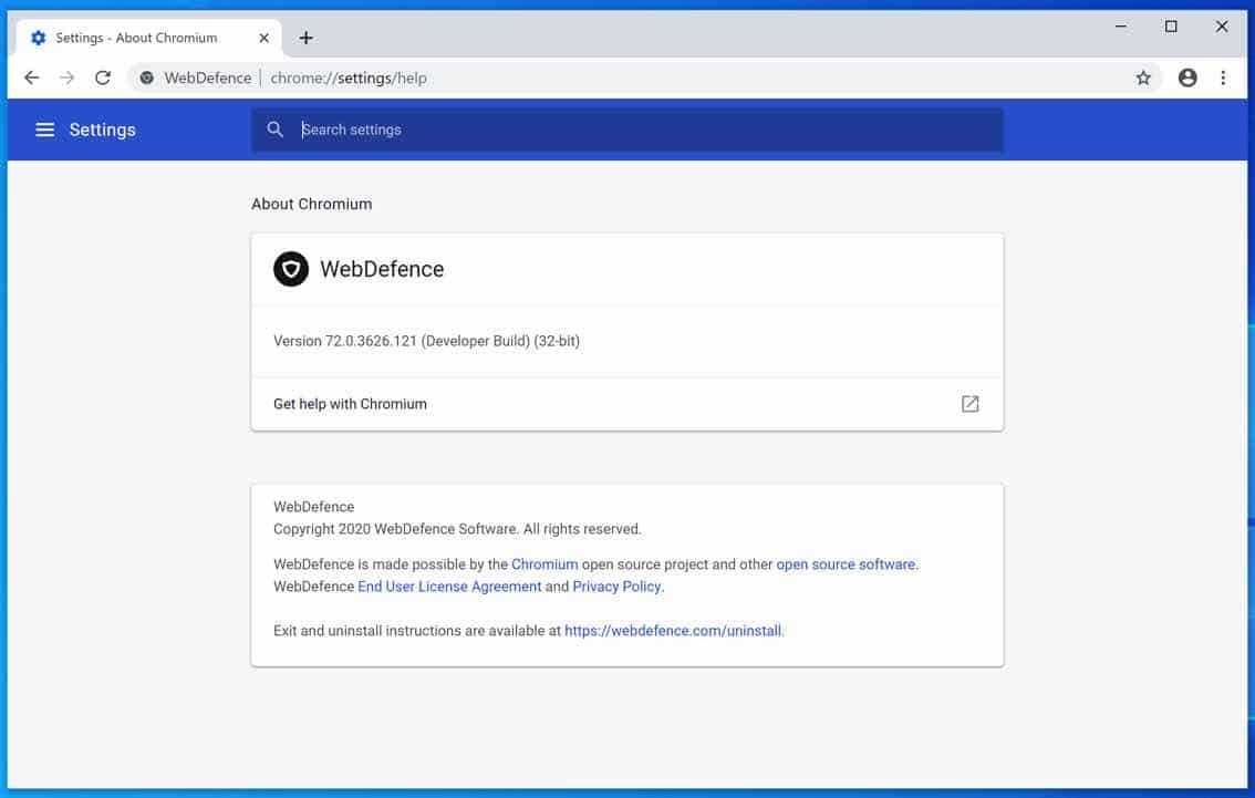 WebDefence