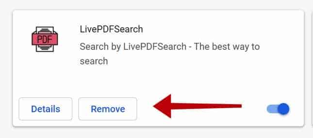 remover LivePDFSearch
