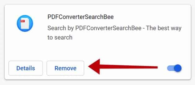 remove PDFConverterSearchBee