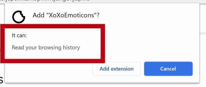 XoXoEmoticons permissions