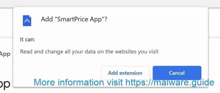 Extension de l'application SmartPrice